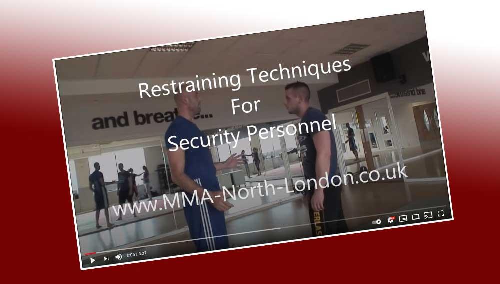 Restraining Techniques for Door Staff