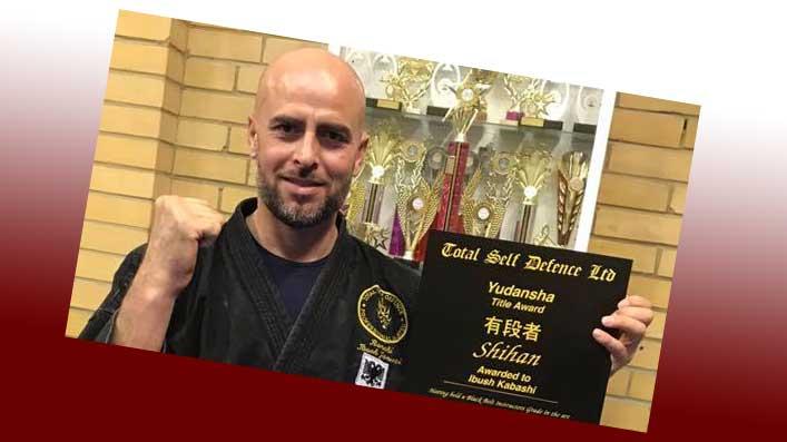 Shihan Award Certificate